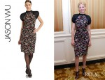 Elizabeth Banks' Jason Wu Printed Silk Dress