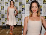 Emily Blunt In Christian Dior - 'Looper' Panel: Comic-Con 2012