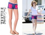 Emma Roberts' TEXTILE Elizabeth and James Robbie Shorts