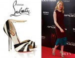 Emma Stone's Christian Louboutin Leather Platform Sandals