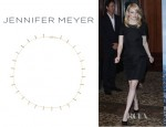 Emma Stone's Jennifer Meyer 18 Karat Gold Bar Necklace