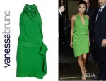 Eva Longoria's Vanessa Bruno Wrap Dress