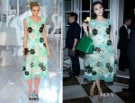 Fan Bingbing In Louis Vuitton - Louis Vuitton Shanghai Flagship Store Opening