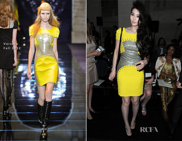 Fan Bingbing In Versace - Atelier Versace Fall 2012 Fashion Show
