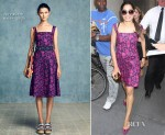 Freida Pinto In Tory Burch - Access Hollywood Live