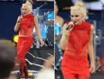 Gwen Stefani In Fendi & Olima - Good Morning America