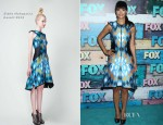 Hannah Simone In Bibhu Mohapatra - FOX All-Star Party