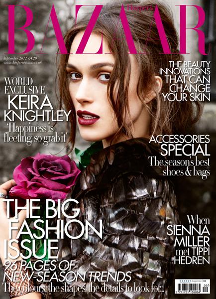 Harper's Bazaar September Cover LR