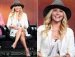 Hayden Panettiere In Alice + Olivia - 2012 Summer TCA Tour