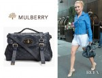 Hayden Panettiere's Mulberry Alexa Messenger Bag
