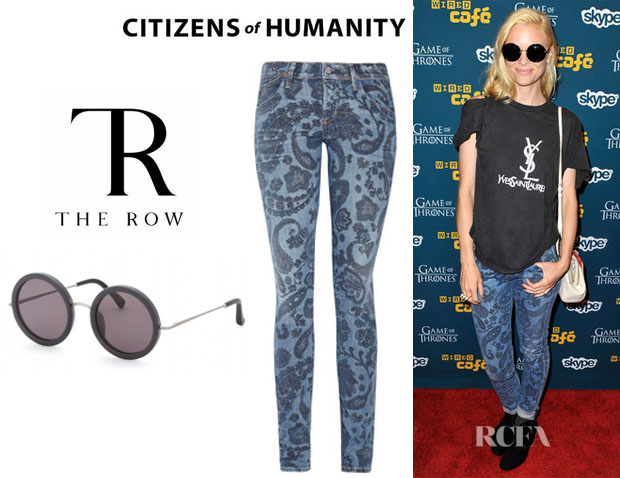 Jaime King Citizens of Humanity The Row