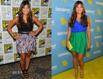 Jenna Ushkowitz In Milly & Blaque Label - Comic-Con 2012