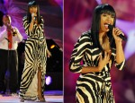 Jennifer Hudson In Roberto Cavalli - 39th Annual Boston Pops Fireworks Spectacular