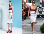 Jessica Alba In Narciso Rodriguez - Narciso Rodriguez Fall 2012 Shoe Collection Luncheon