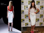 Jessica Biel In Mugler - 'Total Recall' Panel: Comic-Con 2012