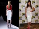 Jessica Biel In Mugler - 'Total Recall' Panel: Comic-Con 2012