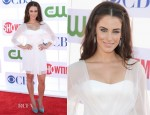 Jessica Lowndes In Pamella Roland - CW, CBS And Showtime 2012 Summer TCA Party