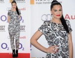 Jessie J In Topshop Boutique - Nordoff Robbins O2 Silver Clef Awards