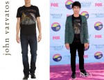 Joe Jonas' John Varvatos Star USA Yardbirds Tee