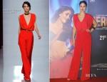 Kareena Kapoor In Emanuel Ungaro - 'Heroine' Promo Launch