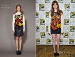 Karen Gillan In 3.1 Phillip Lim - 'Doctor Who' Panel: Comic-Con 2012