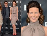 Kate Beckinsale In Christian Dior - 'Total Recall' LA Photocall
