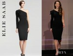 Kate Beckinsale's Elie Saab One Sleeve Dress