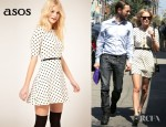 Kate Bosworth's ASOS Skater Dress And Theyskens' Theory Andon Ying Booties