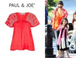 Katie Holmes' Paul & Joe Fenice Top