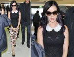 Katy Perry In Alice + Olivia - Sydney Airport