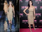 Katy Perry In Versace - 'Katy Perry: Part Of Me' Sydney Premiere