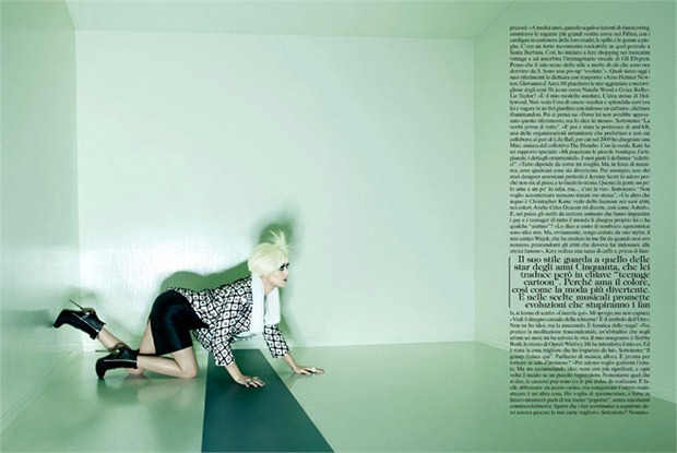 Katy Perry Vogue Italia July 2012