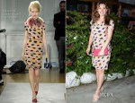 Kelly Brook In Moschino Cheap & Chic - Regina Isabella Hotel Party