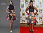 Kerry Washington In J. Mendel - 'Django Unchained' Panel: Comic-Con 2012