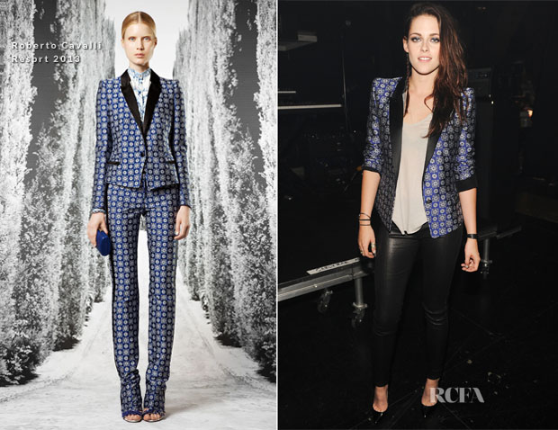 Kristen Stewart In Roberto Cavalli - 2012 Teen Choice Awards