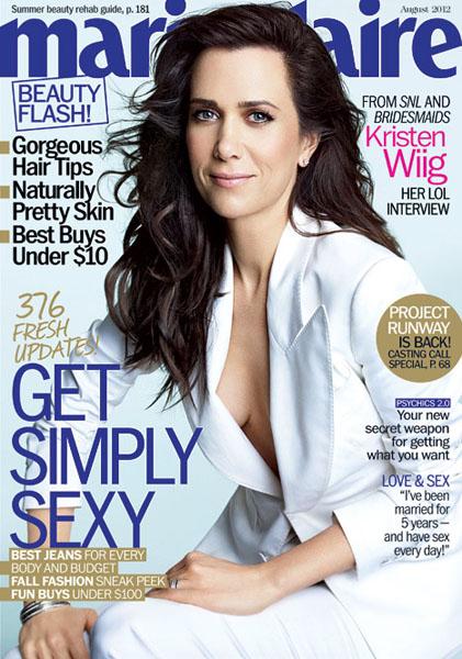 Kristen Wiig Marie Claire US August 2012 (1)