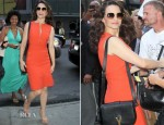 Kristin Davis In Tory Burch - Good Morning America