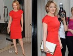 Kylie Minogue In Stella McCartney - Warhol/Mauro Halcyon Gallery Private Viewing