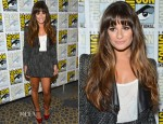 Lea Michele In Stella & Jamie - 'Glee' Panel: Comic-Con 2012