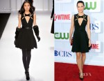 Lucy Liu In J. Mendel - CW, CBS And Showtime 2012 Summer TCA Party