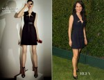 Lucy Liu In Marios Schwab - EXTRA Stage At Comic-Con