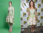 Lyndsy Fonseca In The Hellers - 'Nikita' Comic Con Press Conference