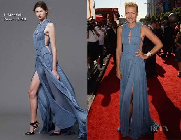 Maria Sharapova In J Mendel - 2012 ESPY Awards