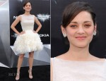 Marion Cotillard In Christian Dior Couture - 'The Dark Knight Rises' New York Premiere