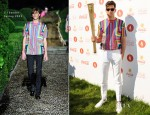 Mark Ronson In Jil Sander - London 2012 Olympic Torch Relay Finale Concert
