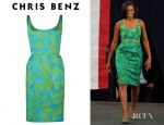 Michelle Obama's Chris Benz Nelda Dress