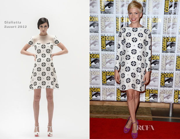 Michelle Williams In Giulietta - 'Oz The Great and Powerful' Comic Con Press Conference