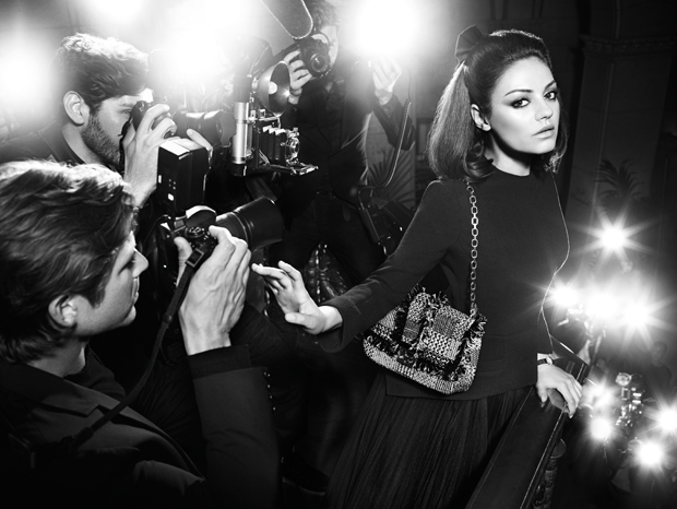 Mila Kunis' Miss Dior Fall 2012 Ad Campaign (5)