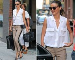 Miranda Kerr In A.L.C. - Out In New York City