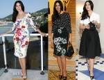 Monica Bellucci In Dolce & Gabbana - Ischia Global Film Festival